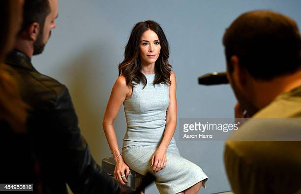 Abigail Spencer attends the Guess Portrait Studio during 2014 Toronto International Film Festival on September 8 2014 in Toronto Canada