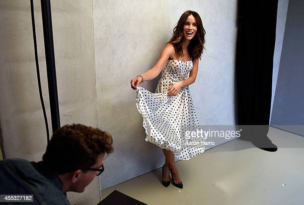 Abigail Spencer attends the Guess Portrait Studio during 2014 Toronto International Film Festival on September 12 2014 in Toronto Canada