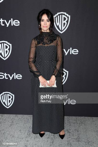 Abigail Spencer attends the InStyle And Warner Bros Golden Globes After Party 2019 at The Beverly Hilton Hotel on January 6 2019 in Beverly Hills...