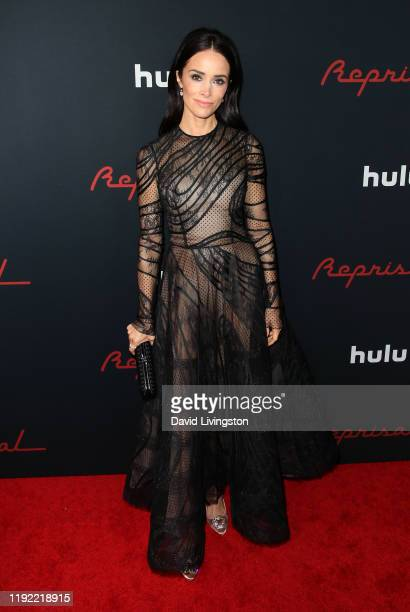Abigail Spencer attends the premiere of Hulu's Reprisal Season One at ArcLight Cinemas on December 05 2019 in Hollywood California