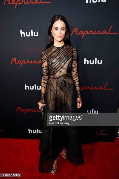 """Abigail Spencer attends the premiere of upcoming Hulu original series """"Reprisal"""" on December 05, 2019 in Hollywood, California."""