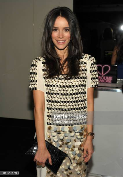 Abigail Spencer attends the Saks Fifth Avenue Vionnet Spring 2012 Runway Collection event at Mr Chow on November 2, 2011 in Beverly Hills, California.
