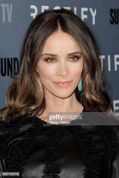 Abigail Spencer attends the SundanceTV's series season 2 premiere of 'Rectify' at Sundance Sunset Cinema on June 16 2014 in Los Angeles California