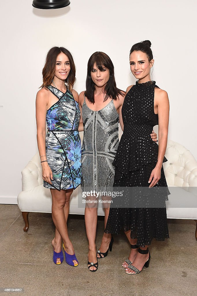 Abigail Spencer, Selma Blair and Jordana Brewster attend The A List 15th Anniversary Party on September 1, 2015 in Beverly Hills, California.