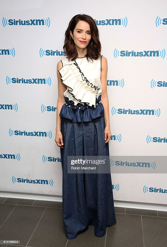 Abigail Spencer visits at SiriusXM Studio on October 7, 2016 in New York City.