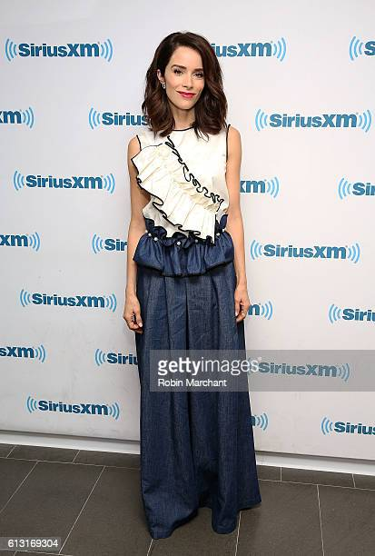 Abigail Spencer visits at SiriusXM Studio on October 7 2016 in New York City