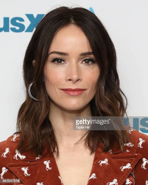 Abigail Spencer visits the SiriusXM Studios on April 4 2018 in New York City