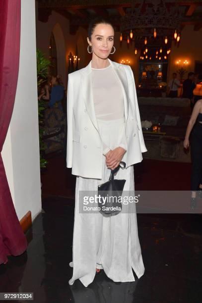 Abigail Spencer wearing Max Mara attends the Max Mara Celebration for Alexandra Shipp 2018 Women In Film Max Mara Face Of The Future Award Recipient...