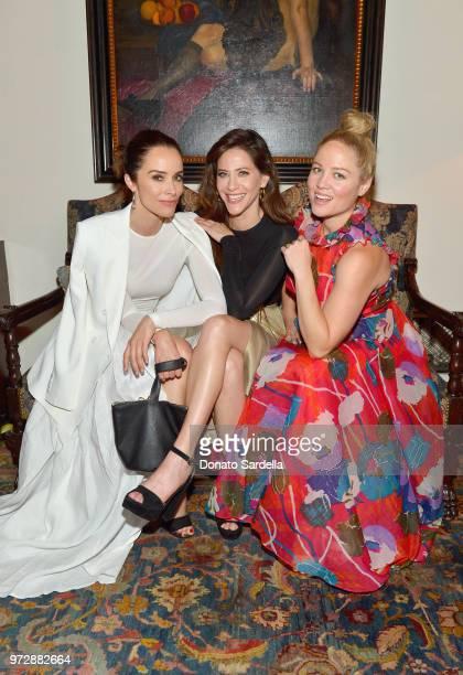 Abigail Spencer wearing Max Mara Jackie Tohn and Erika Christensen attend the Max Mara Celebration for Alexandra Shipp 2018 Women In Film Max Mara...