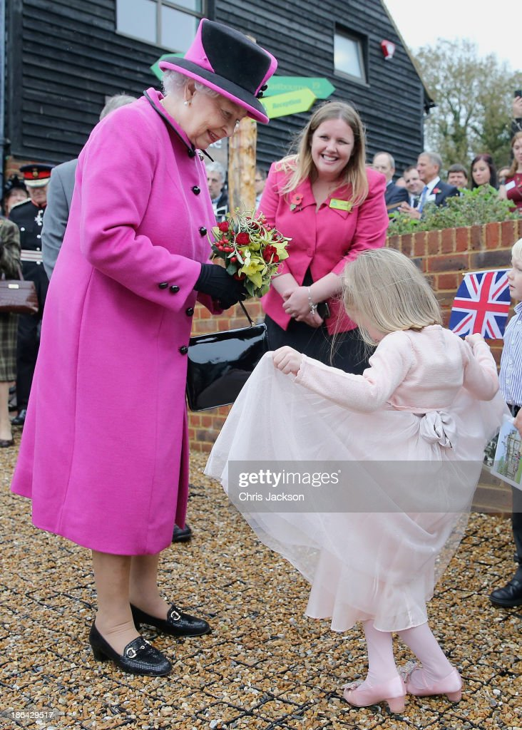 The Queen Visits East Sussex : News Photo
