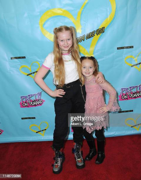 Abigail Zoe Lewis and Charlie Townsend attend the Release Party For Dani Cohn And Mikey Tua's Song Somebody Like You held at The Industry Loft on...