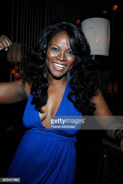 Abiola Abrams attends Paper Magazine's Beautiful People Party Presented by HM at Hiro Ballroom on April 3 2008 in New York City