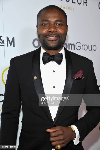Abiola Oke attends the 11th Annual ADCOLOR Awards at Loews Hollywood Hotel on September 19 2017 in Hollywood California