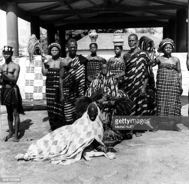 Abla Pokou la reine des Baoulé en Côte d'Ivoire vers 19501953 Abla Pokou la reine des Baoulé en Côte d'Ivoire vers 19501953