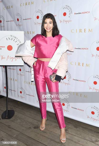 Abla Sofy arrives at Worldwide Influence The Magazine Online Splashy Launch Celebration #wwitmlaunch at SIXTY Beverly Hills on November 17 2018 in...