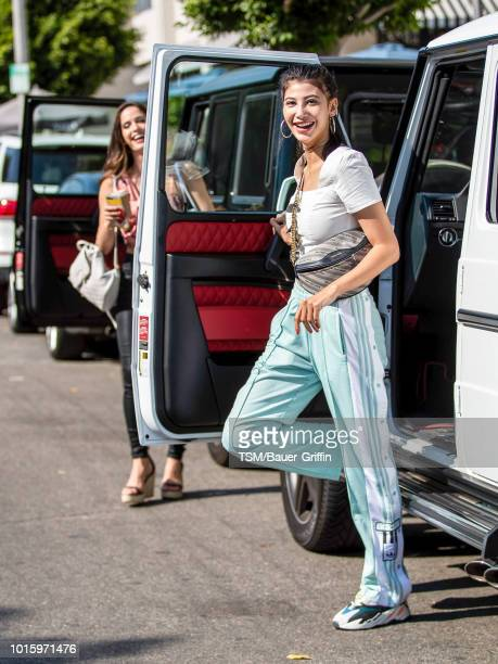 Abla Sofy is seen on August 12 2018 in Los Angeles California