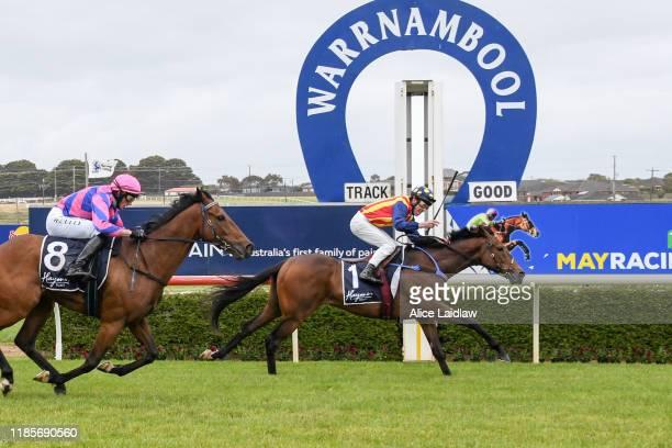 Ablaze ridden by John Allen wins the Haymes Paint Jericho Cup at Warrnambool Racecourse on December 01 2019 in Warrnambool Australia