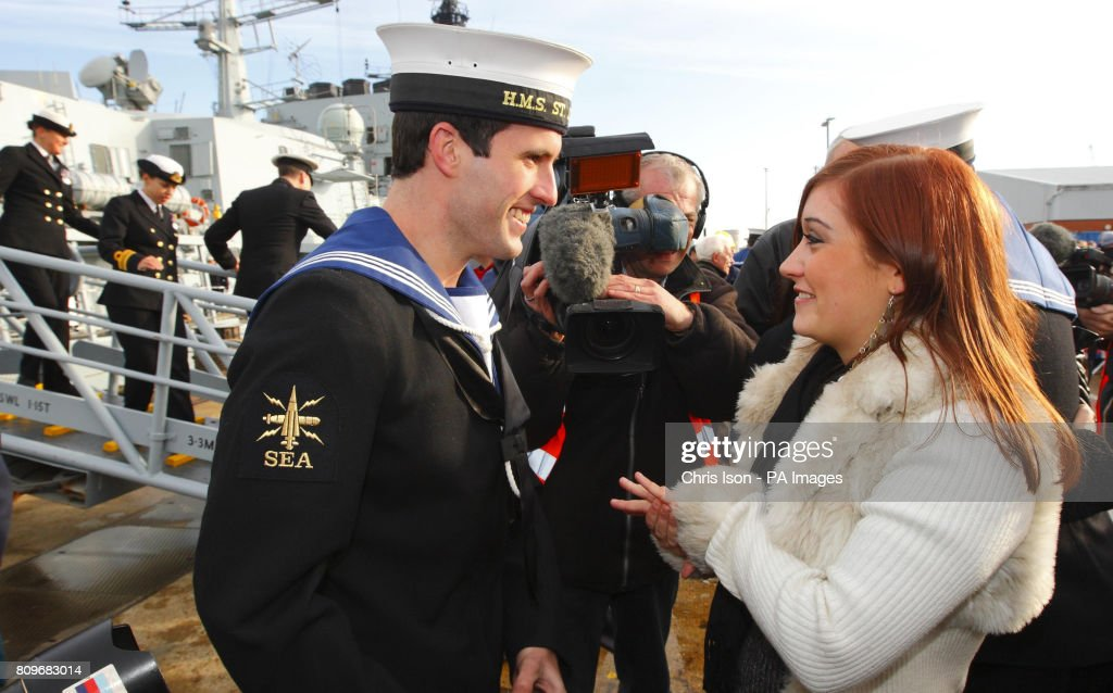 being a royal navy girlfriend