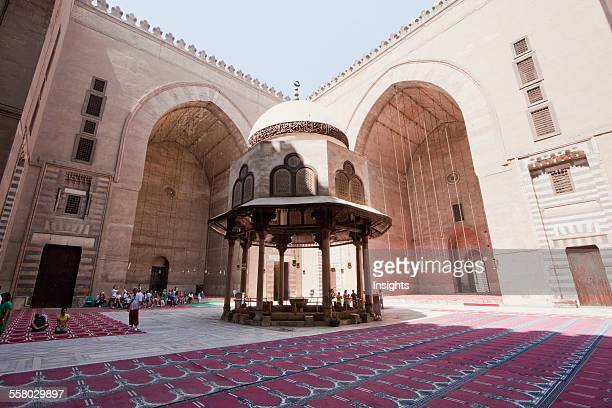 Ablution Fountain Of Sultan Hassan Mosque And Madrassa Cairo Al Qahirah Egypt