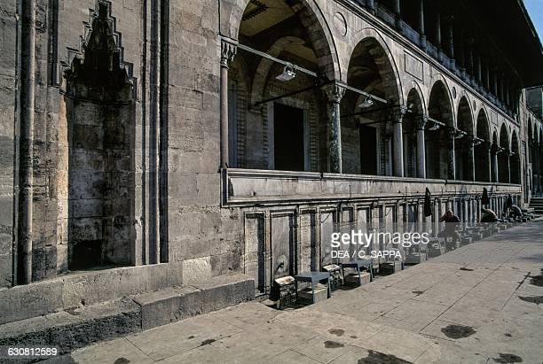 Ablution Fountain Suleymaniye mosque 15501557 historic centre of Istanbul Turkey 16th century