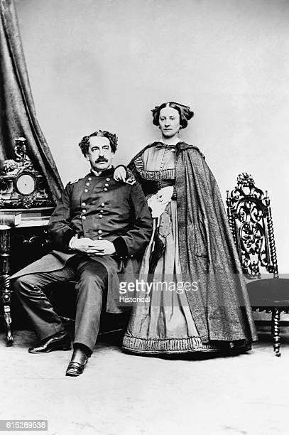 Abner Doubleday and his wife A military officer in the Mexican War and the Civil War Doubleday was credited for many years with the invention of...