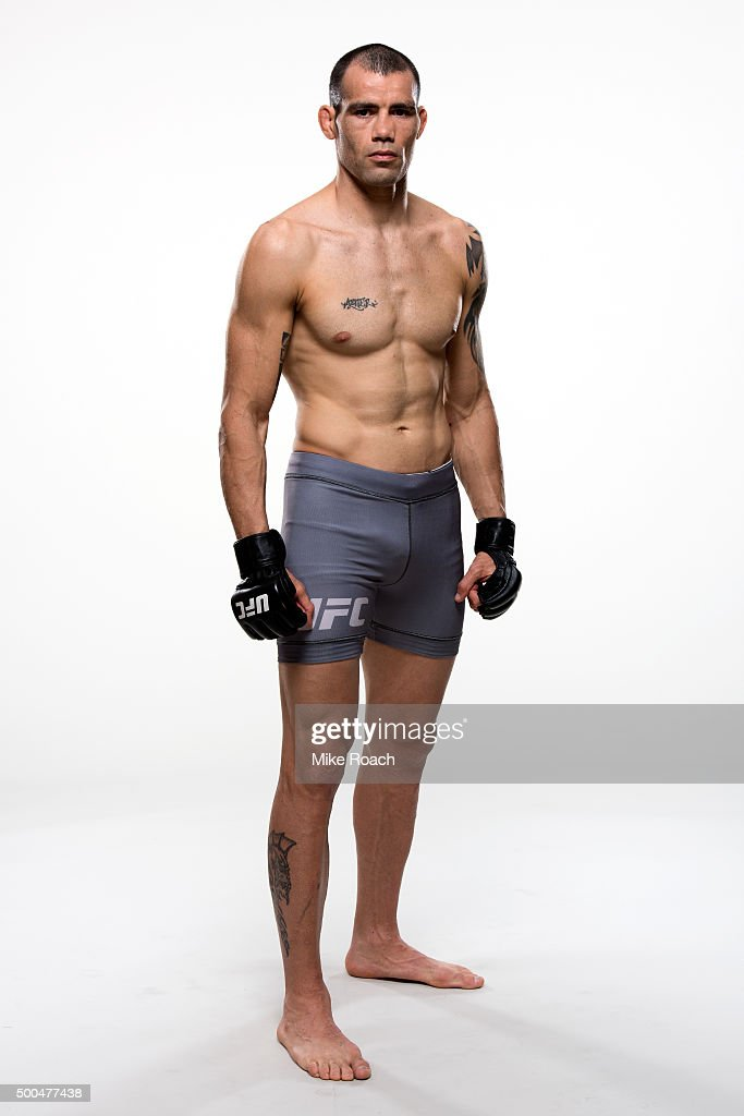 UFC Fighter Portraits 2015 : News Photo