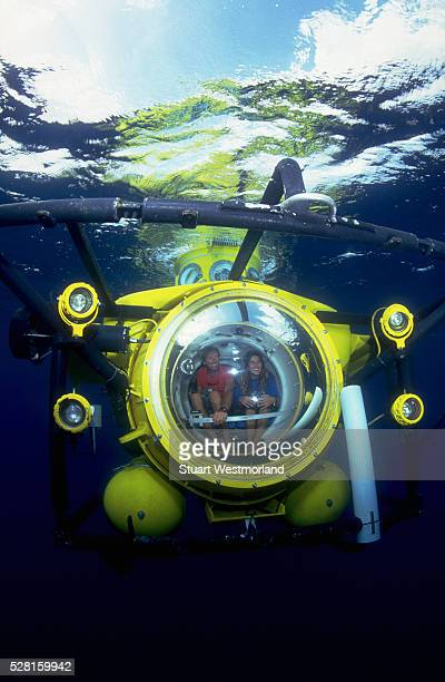 aboard an rsl minisub - submarine stock pictures, royalty-free photos & images