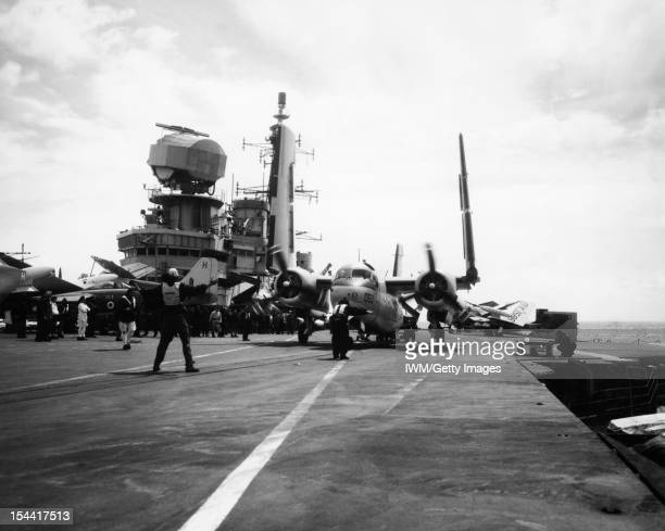 Aboard HMS Hermes During Nato Exercises August 1962 On Board The Aircraft Carrier During The Four Day Nato Naval Strike Exercise In The Atlantic...