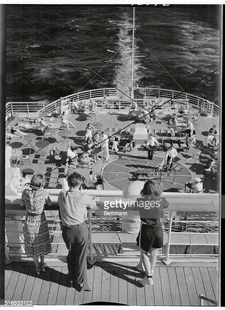 Cruise Ship Engine Room: S.S. Normandie Stock Photos And Pictures