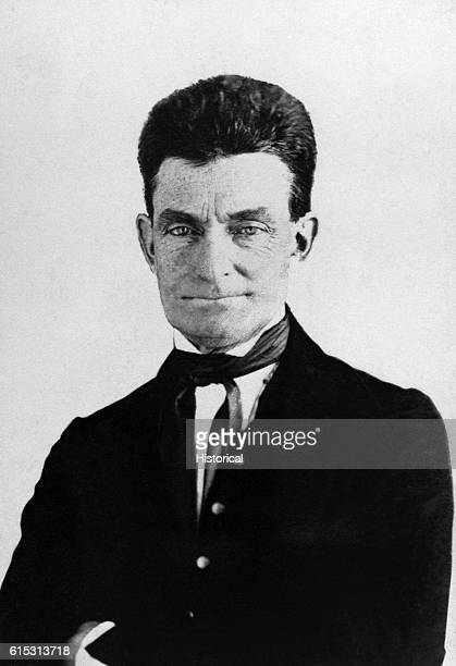 Abolitionist John Brown led the notorious raid on the US arsenal at Harper's Ferry Virginia on October 16 1859 in a bid to liberate Southern slaves...