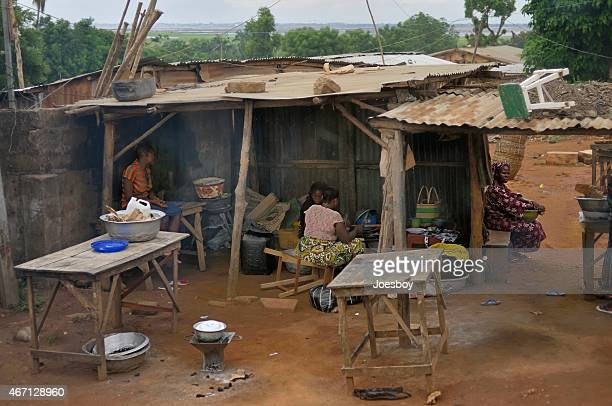 Abomey Calavi Roadside Shanty Cooking