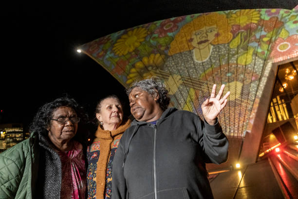 AUS: Art Gallery of New South Wales celebrates its 150th anniversary with 'Badu Gili: Wonder Women' featuring the works of six female Aboriginal artists projected onto the sails of the Sydney Opera House