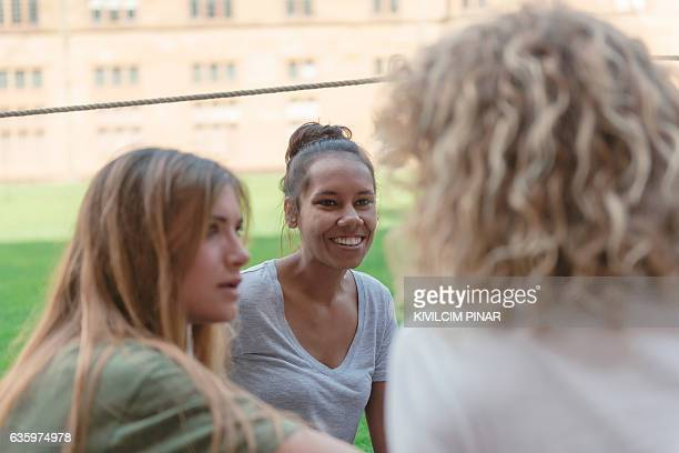 Aboriginal scholar at the campus