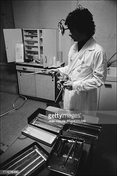 Abortion in a clinic of SaintEtienne France in September 1973