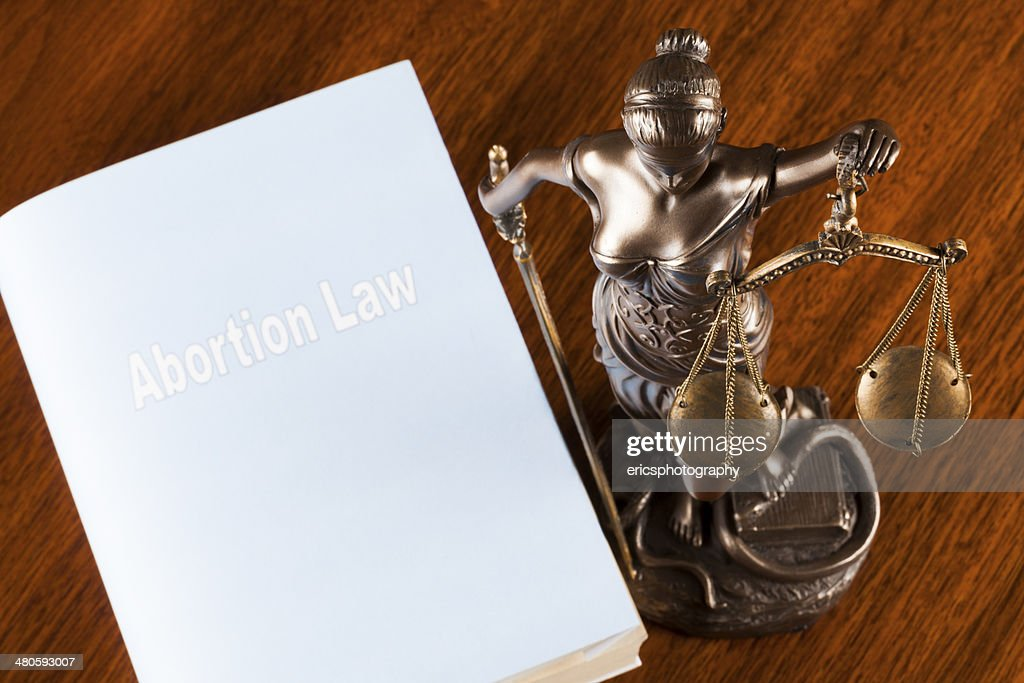 Abortion law : Stock Photo