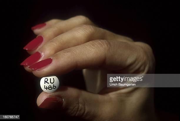 Abortion pill RU 486
