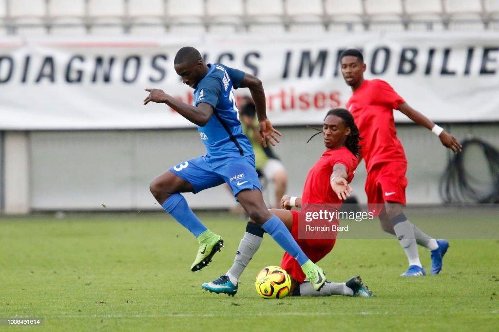 Abou Demba Harouna of Grenoble and Castelo Branco Da Cruz ...