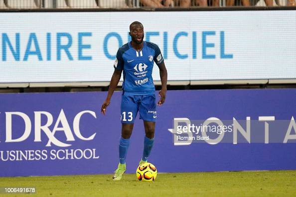Abou Demba Harouna of Grenoble during the Ligue 2 match ...