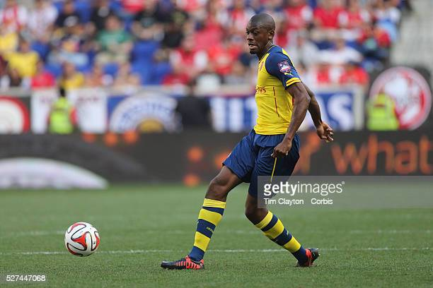 Abou Diaby Arsenal in action during the New York Red Bulls Vs Arsenal FC friendly football match for the New York Cup at Red Bull Arena Harrison New...