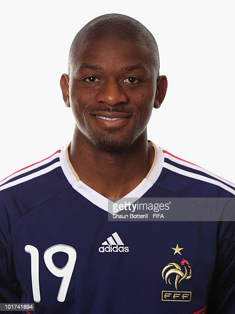 Abou Diaby of France poses during the official FIFA World Cup 2010 portrait session on June 7 2010 in George South Africa