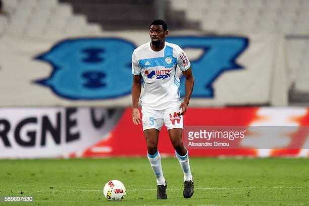 Abou Diaby of Marseille during the football Ligue 1 match between Olympique de Marseille and Toulouse Fc at Stade Velodrome on August 14 2016 in...