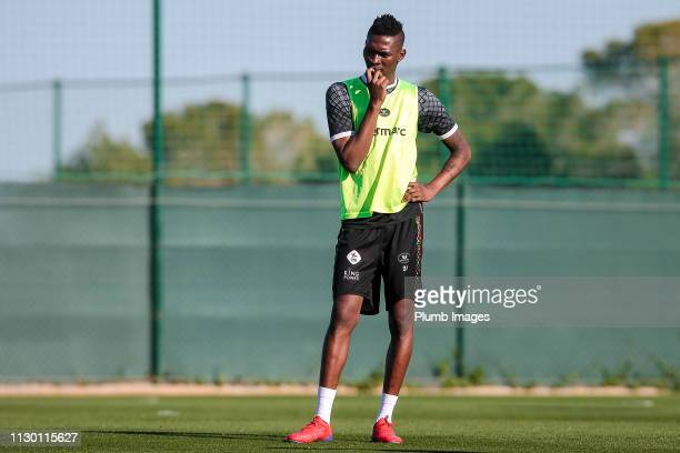 Aboubakar Keita of OH Leuven during the OH Leuven training camp at La Finca Golf Spa Resort on March 12th 2019 in Algorfa Spain