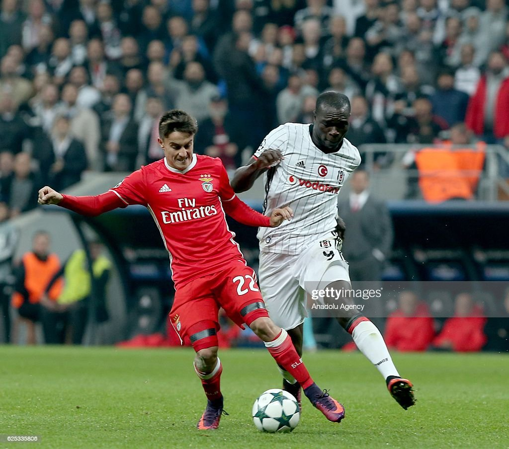 Besiktas vs Benfica - UEFA Champions League : News Photo