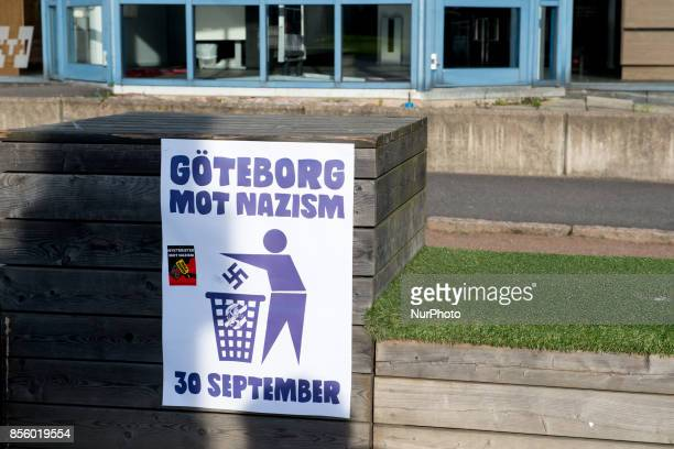 About 20000 counter protesters showed up to denounce nazism as members of the Nordic Resistance Front attempted to march through central Gothenburg...