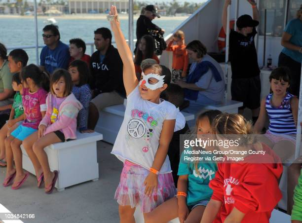 Scott Varley About 25 children take part in the Long Beach Marine Institute's summer camp Liquid Jungle of the Sea After a week of learning about sea...