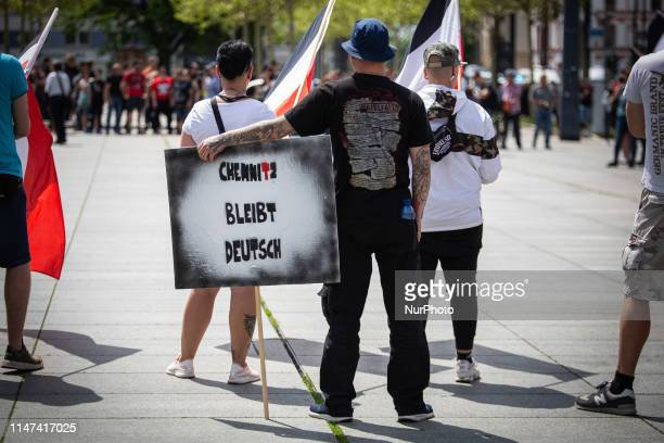 About 270 Neonazis demonstrated through the city of Chemnitz to celebrate their 11th anniversary of their Tag der Deutschen Zukunft , on June 1,...