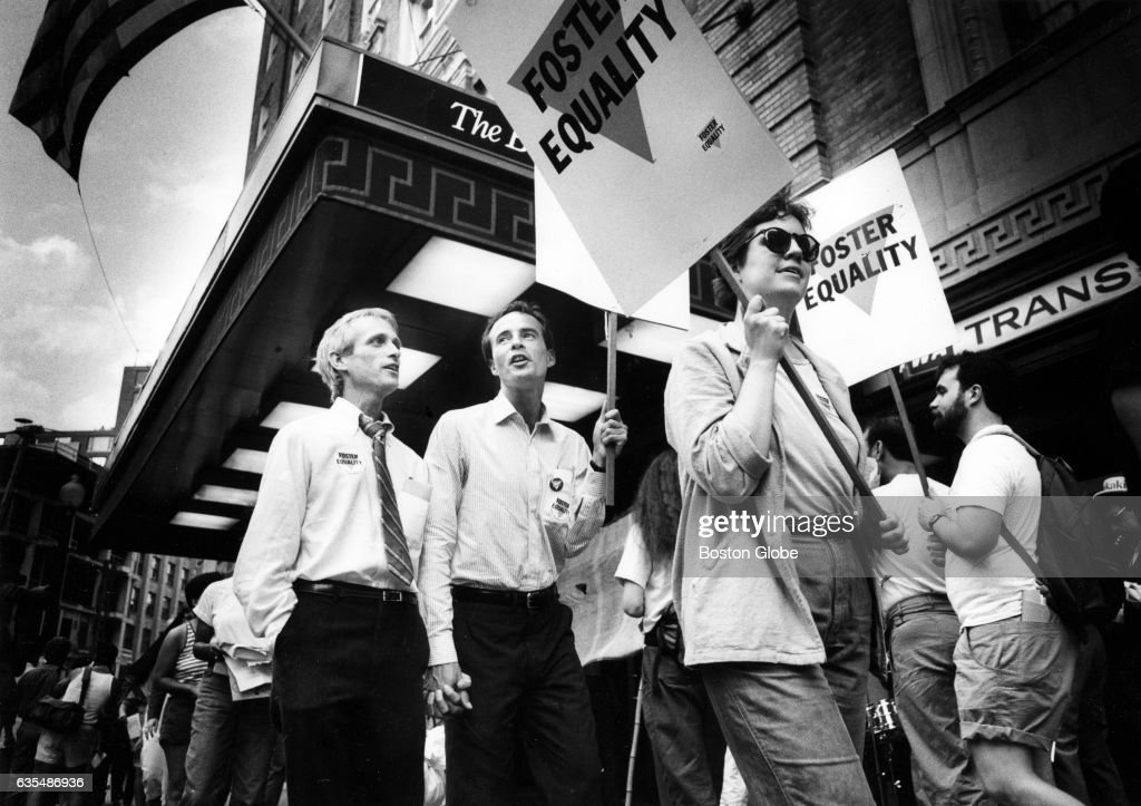 Fight For Gay Rights In Boston : News Photo
