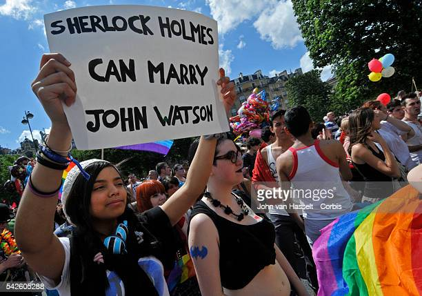 About 60000 attend the Gay Pride march in Paris The major issue this year is the promise of newly elected French President Francois Hollande to pass...