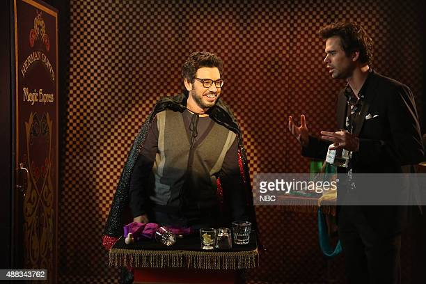 BOY 'About a Babymoon' Episode 217 Pictured Al Madrigal as Andy David Walton as Will