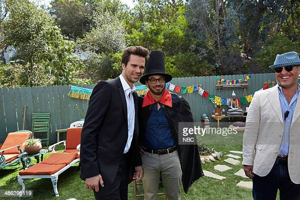 BOY 'About a Birthday Party' Episode 111 Pictured David Walton as Will Freeman Al Madrigal as Andy Photo by Ben Cohen/NBC/NBCU Photo Bank via Getty...